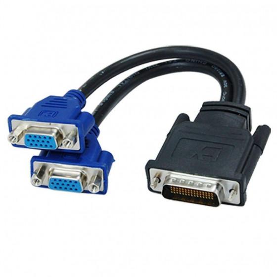 DMS-59 to 2x VGA