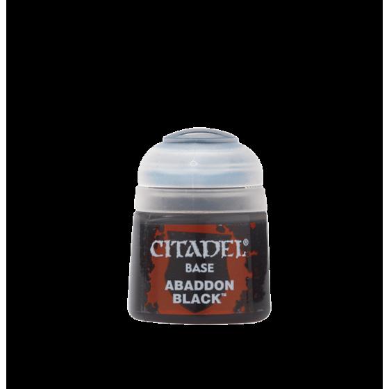 Abaddon Black 12Ml 21-25 Games Workshop Citadel...