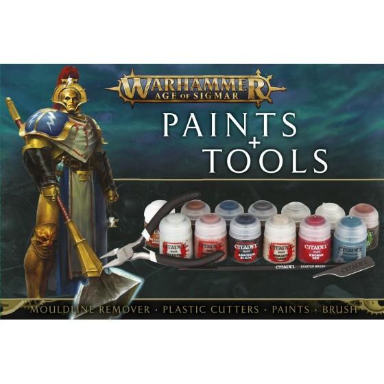 Aos Paints + Tools Set 80-17-60 Games Workshop...