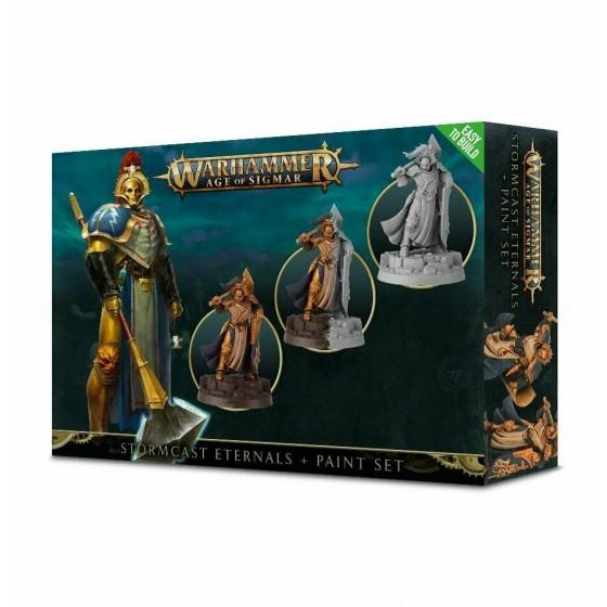 Stormcast Eternals And Paint Set 60-10-60 Games...