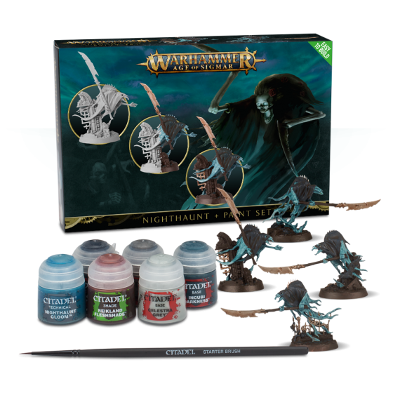 NightHaunt And Paint Set 60-09-60 Games...