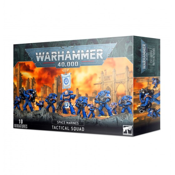 Space Marine Tactical Squad 48-07 Games...