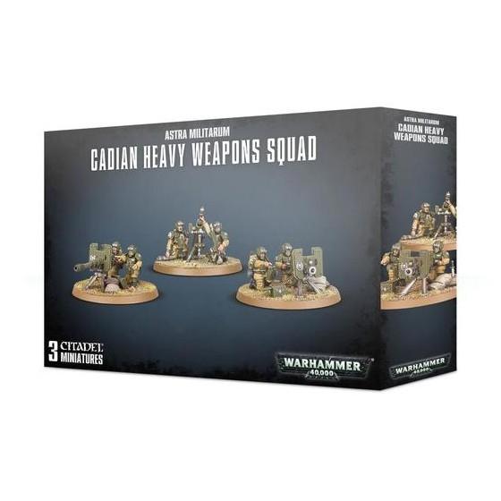 Astra Militarum Cadian Heavy Weapon Squad 47-19...