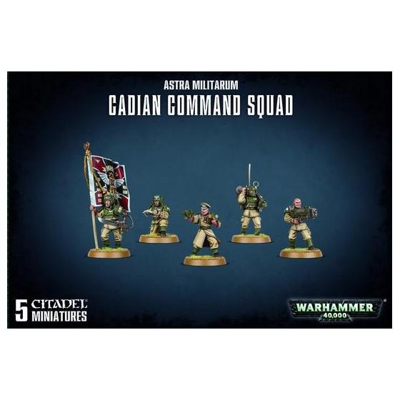 Astra Militarum Cadian Command Squad 47-09...