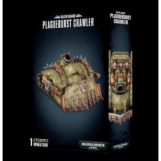 Death Guard Plagueburst Crawler 43-52 Games...