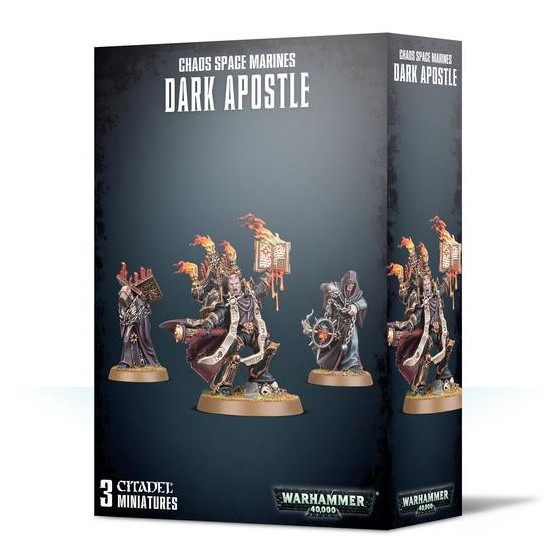 Chaos Space Marines Dark Apostle 43-37 Games...