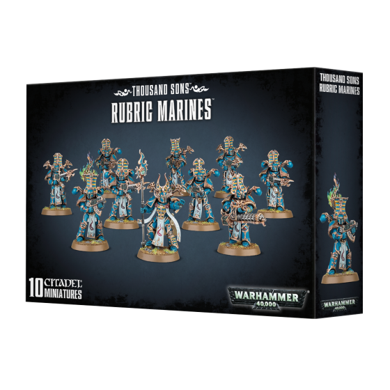 Thousand Sons Rubric Marines 43-35 Games...