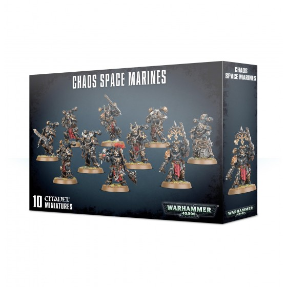 Chaos Space Marines 43-06 Games Workshop...